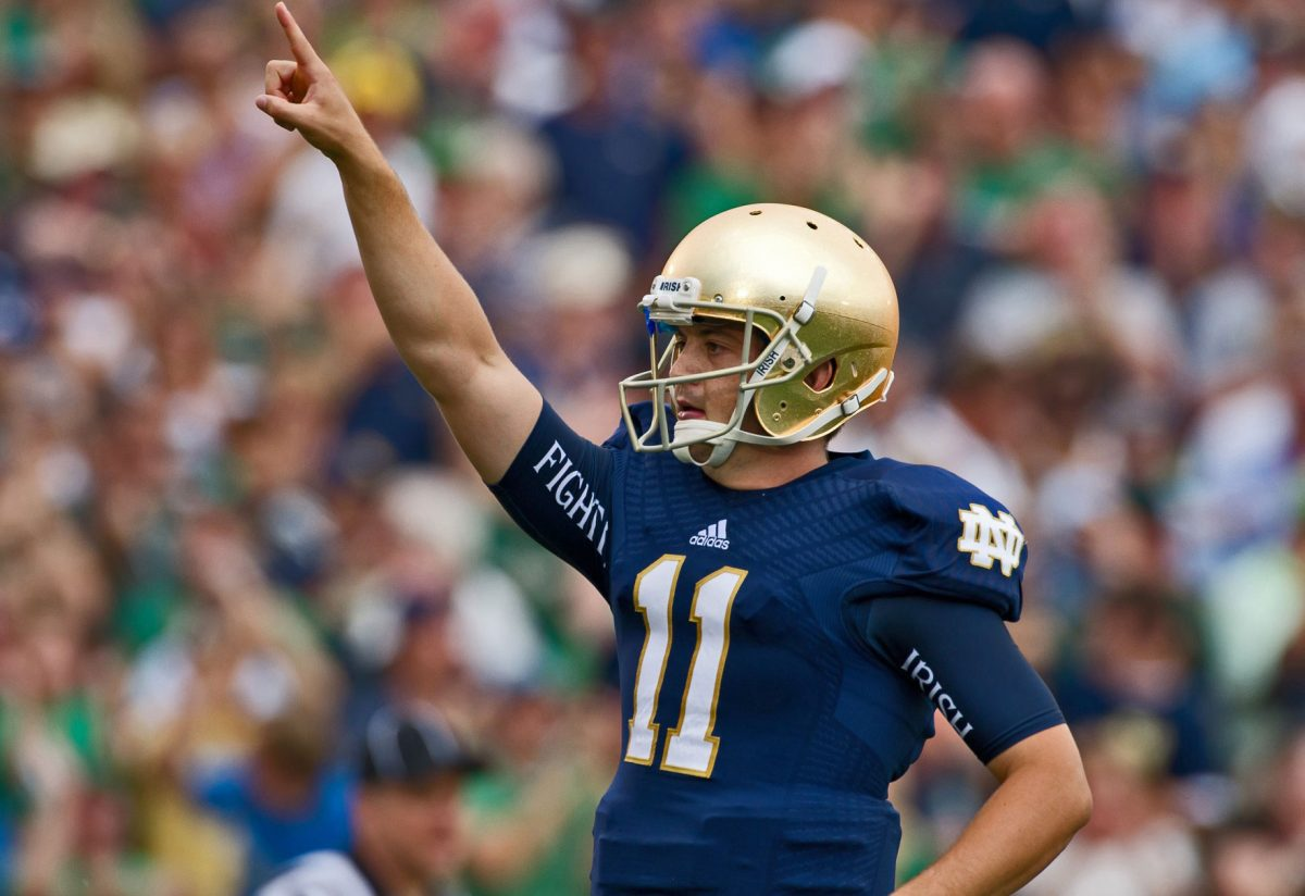 notre dame football top quarterbacks in modern fighting irish history