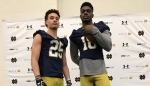 Notre Dame WR Braden Lenzy on the Upswing
