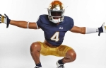 Top 30 Running Back Chris Tyree Commits to Notre Dame!