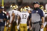 Brian Kelly Updates Status of Injured Notre Dame Offensive Starters