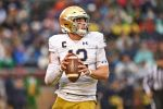 Ian Book Returning to Notre Dame for Unfinished Business